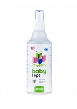 babysept, 200ml, pršilka, domača uporaba, babysept za domačo uporabo, dezinfekcija, razkužilo