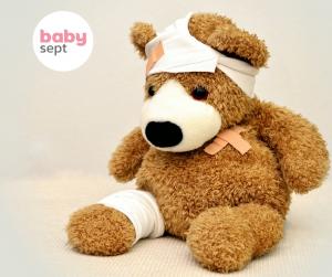 rakužilo za rane, razkuževanje ran, razkužilo baby sept, baby sept razkužilo, dezinfekcija,