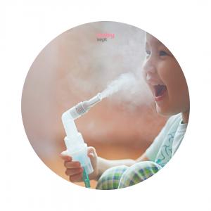 inhalator, rakužilo, razkužilo za inhalator, razkuževanje inhalatorja, babysept